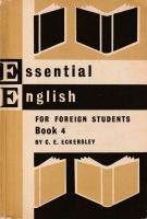 Essential English For Foreign Students (Book 4)