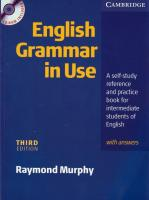 English Grammar in Use ( Third Edition )